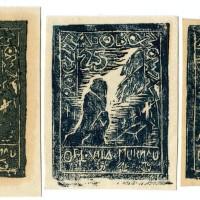 Fałszerstwa znaczka nr.9 (wdowa) z obozu VII A- Murnau